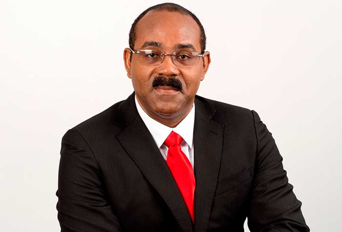 Image of Prime Minister Gaston Browne