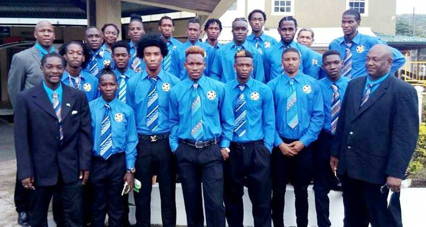 Image of Team Saint Lucia. (Photo: TSLU)