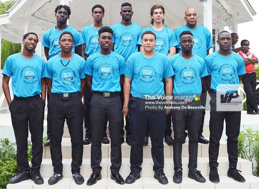 Image: Saint Lucia Beach Football Team win gold at the Commonwealth Youth Games in the Bahamas (Photo: Anthony De Beauville)