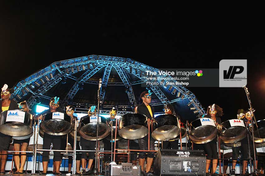 Image: Wilrock Laborie Steel Orchestra