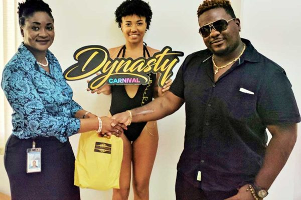 Image: Yasmine Reynolds Lambert is the winner of a Dynasty Carnival costume with Climax.