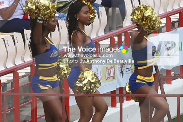 IMG: The CPL party starts at the DSCG; opener Johnson Charles. (Photo: Anthony De Beauville)