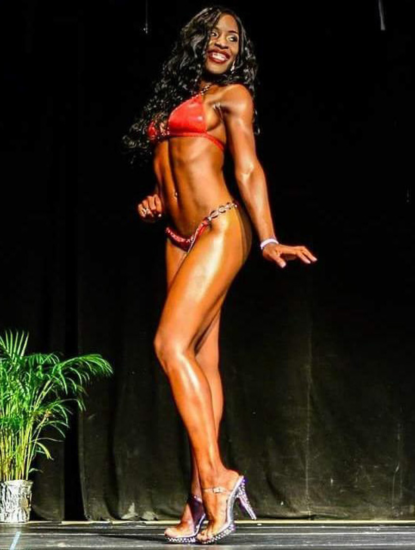 img: Fitness champ, Rocheal Phillip.