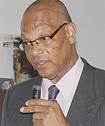 Image of Executive Director of the St. Lucia Employers Federation (SLEF), Joseph Alexander