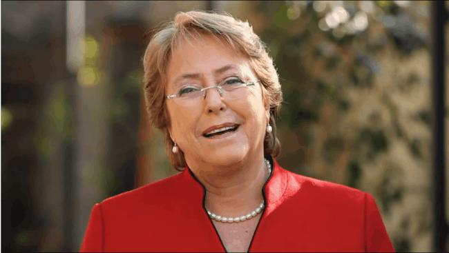 Image of Michelle Bachelet