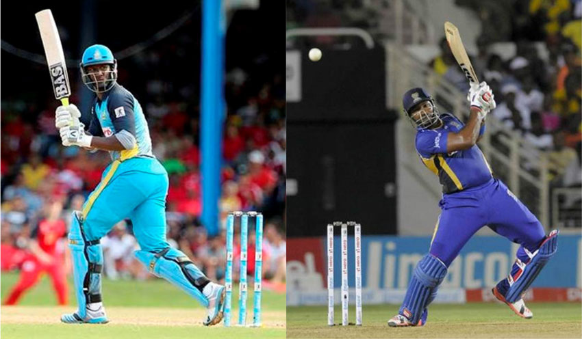 img: Daren Sammy and Kieron Pollard will go head-to-head tonight. (Photo: CPL)