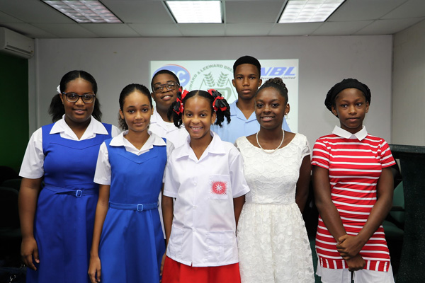 img: WLBL's incoming and current scholarship recipients.