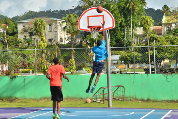 img: Kenneth 'Wriggler' King Court, Castries.