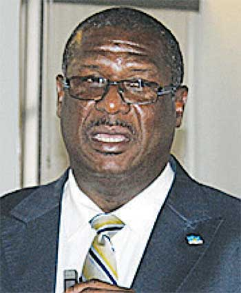 Image of Labour Minister, Stephenson King