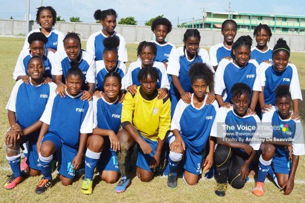 Image: Team Saint Lucia. (Photo: Anthony De Beauville)