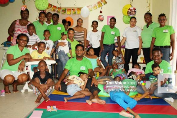 Image: CPA members, parents and children at a recent sensory session. [PHOTO: Stan Bishop]