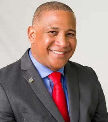 Image of SLP's Castries South MP, Dr. Ernest Hilaire