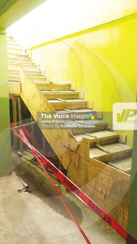 img: The unfinished stairs [PHOTO: By Rochelle Gonzales]