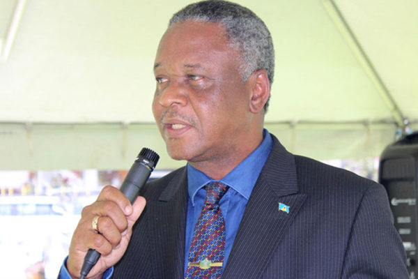 Image of Home Affairs Minister, Hermangild Francis