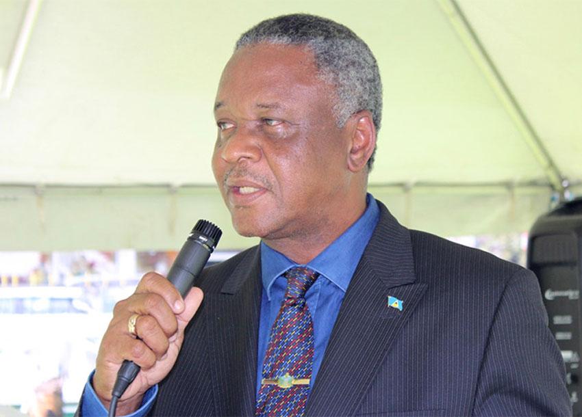 Image of Home Affairs Minister, Hermangild Francis