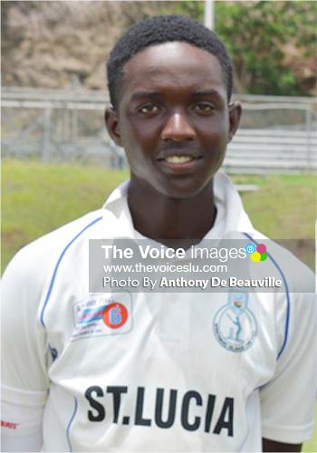 Image: Saint Lucia's Kimani Melius is among the squad. (Photo: Anthony De Beauville)