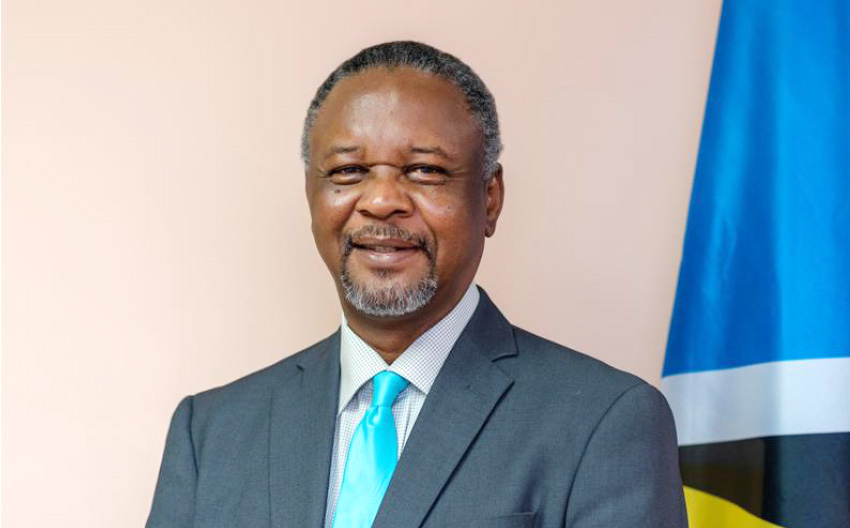 Image of National Security Minister, Hermangild Francis