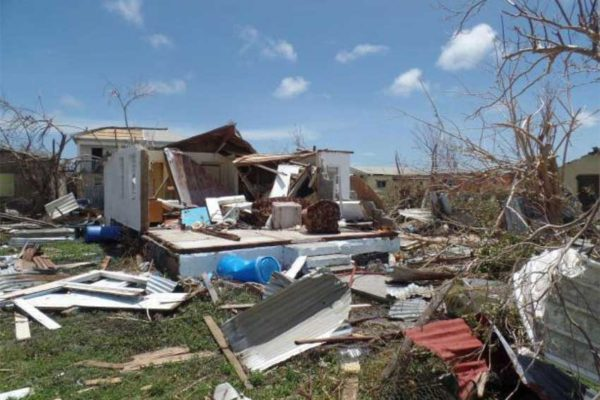 Image: Ninety-five percent of Barbuda is now unhabitable.