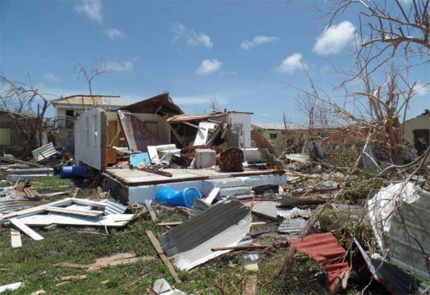 Image: Ninety-five percent of Barbuda is now unhabitable.