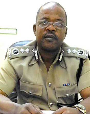 Image of POLICE Commissioner Severin Moncherry