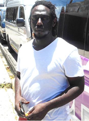 Image of Sheldon Leriche, president of the 4B Minibus Drivers Association