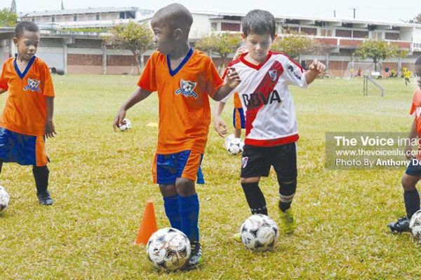 Image - These future football stars will be in action. (PHOTO: Anthony De Beauville)