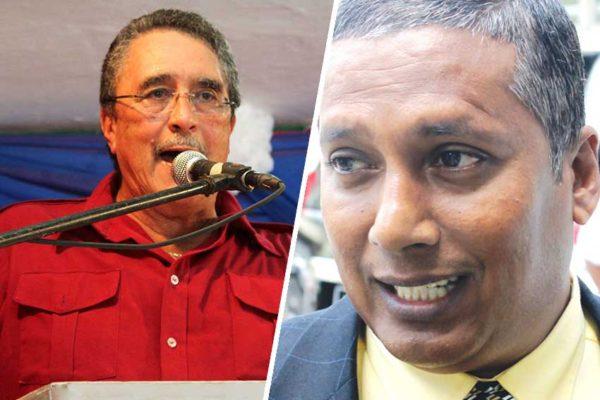 Image of Dr. Kenny Anthony vs Guy Joseph