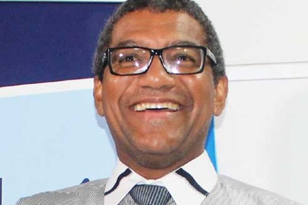 Image of Minister of Commerce, International Trade, Investment, Enterprise Development and Consumer Affairs, Bradly Felix