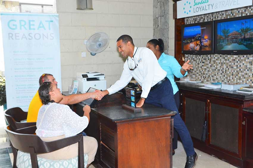 Image: Sandals Halcyon General Manager Chris Elliott steps into his role as Loyalty and Travel Manager.