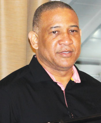 Image of Castries South MP, Dr. Ernest Hilaire