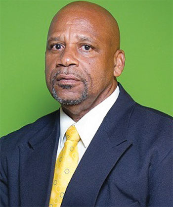 Image of Minister for Agriculture, Ezechiel Joseph