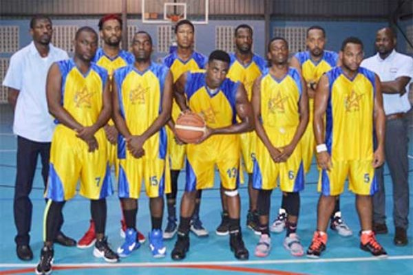 Image of Financial Services basketball team