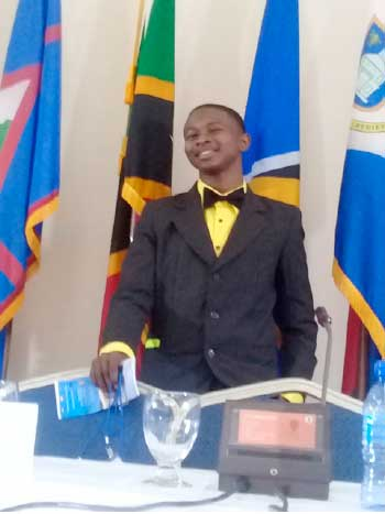 Image of Junior Minister of Tourism, Francis Alexander