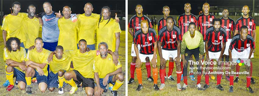 "Image: (L-R) Labowe Connextions were first to qualify in ""The Final Four""; La Clery in do-or-die situation against Marchand this evening. (PHOTO: Anthony De Beauville)"