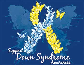 Image: Down's Syndrome Awareness Month poster