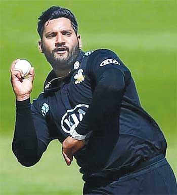 Image of Ravi Rampaul(Getty Images)