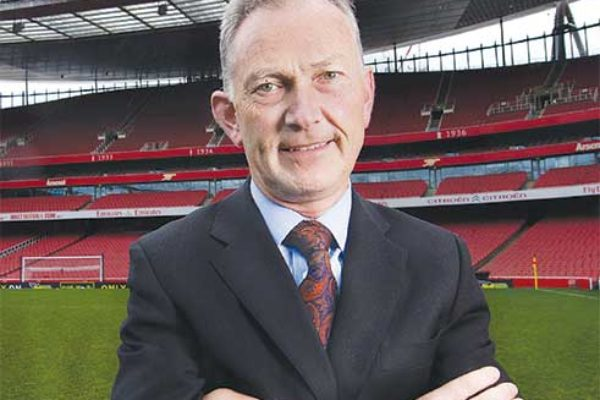 Image: Executive Chairman of the Premier League, Richard Scudamore.