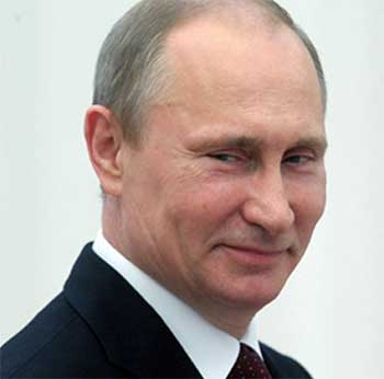 Image of Russian President, Vladimir Putin