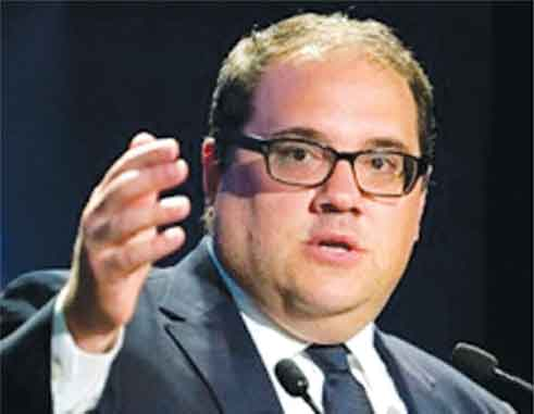 Image of CONCACAF President Victor Montagliani