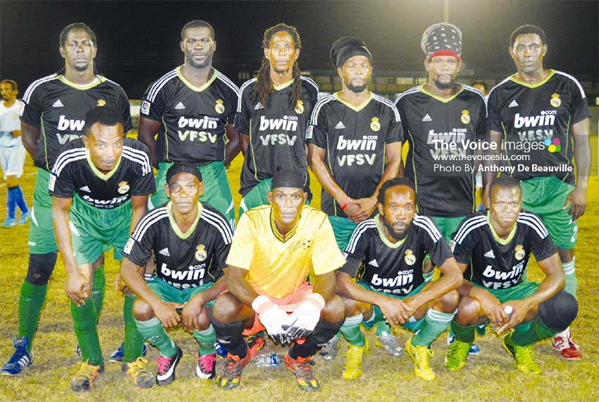 Image: Defending Plate Champions, Vieux Fort South. (PHOTO: Anthony De Beauville)