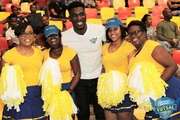 Image: Corporate Saint Lucia Takes 'TimeOut' For Futsal