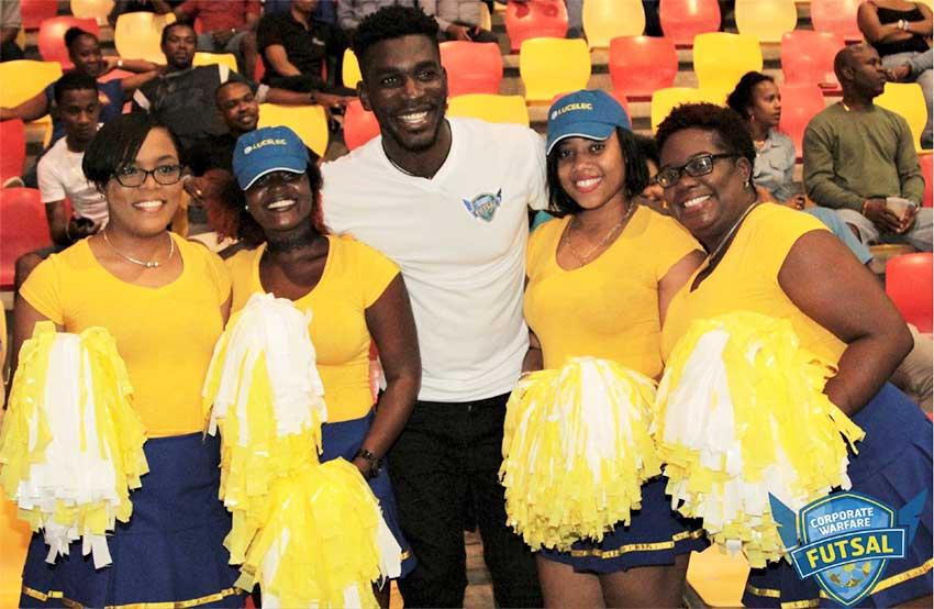 Image: Corporate Saint Lucia Takes 'TimeOut' For Futsal