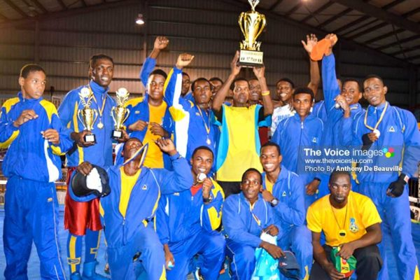 Image: OECS and Creole Boxing Champions Saint Lucia all set to take on the rest of the Caribbean. (Photo: Anthony De Beauville)