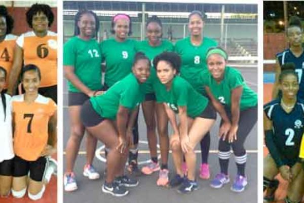 Image: (L-R) Phoenix 758, Jet Setters and Le Club ladies will be in action this weekend. (Photo: EV)