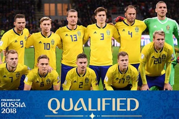 Image: Sweden is the 29th team to qualify.