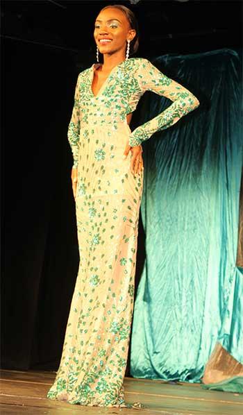 Image: Lyette Rameau, Miss RSLPF & Allied Services 2017.