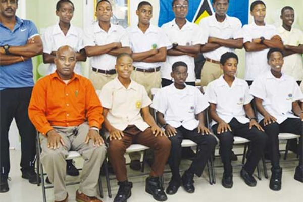 Image of Second place team Saint Lucia