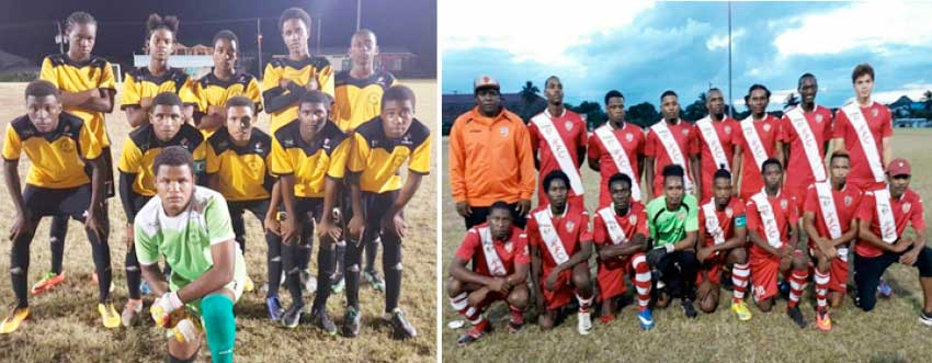 Image: (l-r) Sports Locker Northern United and KFC GMC United will do battle in the finals. (Photo: CD)