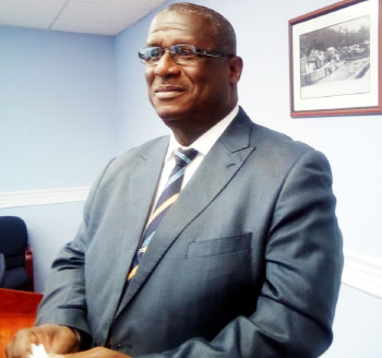 Image of Ports, Energy and Infrastructure Minister, Stephenson King