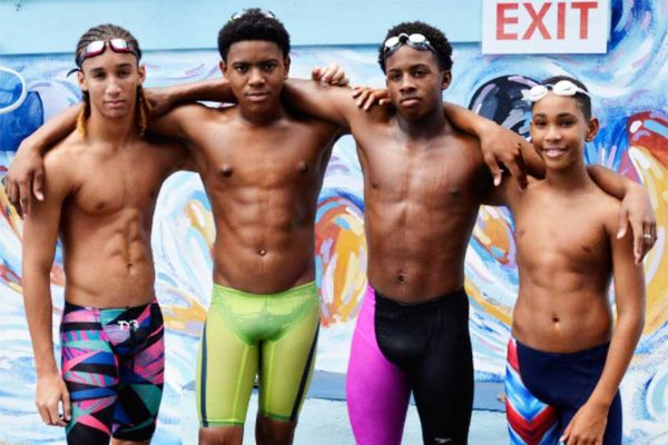 Image From L-R: Terrel, Jayhan, Jamaar and D'Andre.